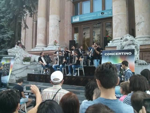 Concertino Band, Sala cu Orgă, Chișinău, 1 iulie